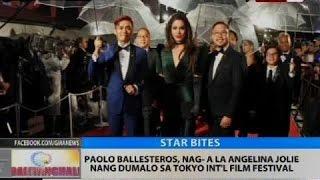 Paolo Ballesteros, nag-ala Angelina Jolie nang dumalo sa Tokyo Int'l Film Festival