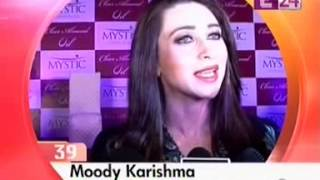 Karisma Kapoor Introduces Clear Almond Oil of Mystic Spa at E24 News