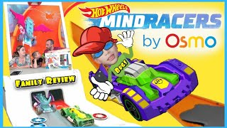 Osmo HOT WHEELS MindRacers Review! New Osmo Hot Wheels Car Playset / iPad Game for KIDS! PlayOsmo