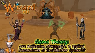 Wizard101 Game Theory - Are Malistaire Morganthe, & Mellori Descendants of Old Cob?!?