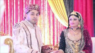 Maksud and Azmeree ' s reception trailer