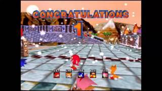 Sonic R Any% No OoB Speedrun Emu World Record 8:59.39 [SUB 9 HYPE]