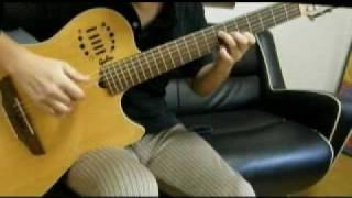 Magical Girl Lyrical Nanoha innocent starter on guitar