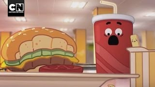 Lunchroom Warfare   The Amazing World of Gumball   Cartoon Network