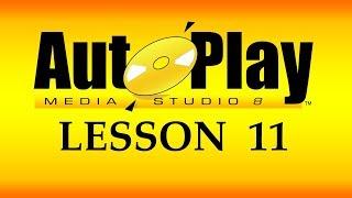 تعلم AutoPlay Media Studio و برمجة تطبيقات الويندوز - 11- إنشاء شريط القوائم Menu Bar