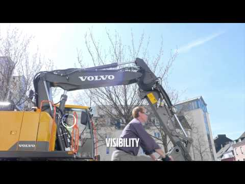 Volvo EWR150E wheeled excavator promotional video