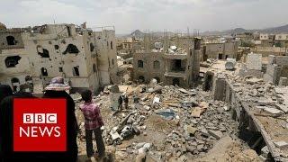 Inside Yemen: Saudi air strikes and Britain's role - BBC News