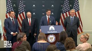 WATCH: House Republican leaders holds news briefing