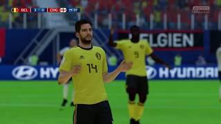 World Cup 2018 Belgium vs England - 3rd Place 2018 Full Match Sim (FIFA 18)
