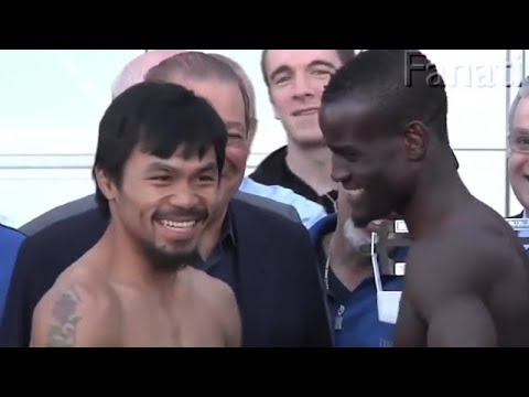 Funniest Staredowns in MMA and Boxing
