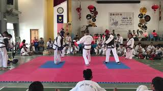 Tang Soo Do National 2018- Sheng Yew Lee vs Kee Sheng Tan