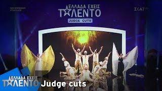 Ελλάδα Έχεις Ταλέντο - Season 2 | Men Belly Dance Team | 18/11/2018