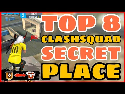 Top 8 Clash Squad Secret Place Part 3 Tips and Tricks Garena Free Fire 4G Gamers
