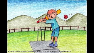 Cricket Player Scene   YouTube