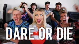 DARES WITH FRIENDS - I GOT LAID! || Kristen Hancher