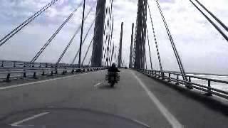Atravesando el puente de Oresund