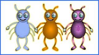 Incy Wincy Spider | Kindergarten Nursery Rhymes | Preschool Poems for Kids