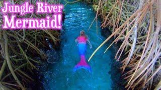 Mermaid found in a Jungle River!