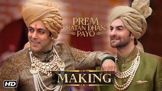 Making Of Prem Ratan Dhan Payo Title Song | Salman Khan, Sonam Kapoor, Sooraj Barjatya