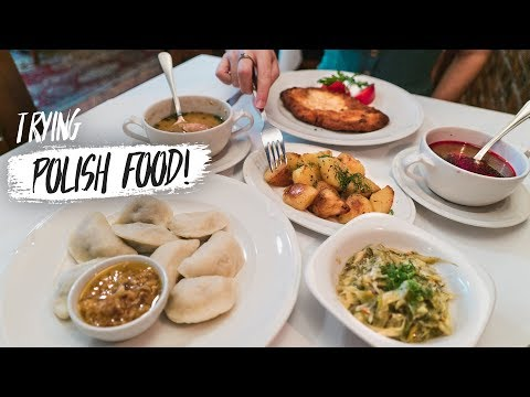 Trying Polish Food FOR THE FIRST TIME! + Exploring Krakow