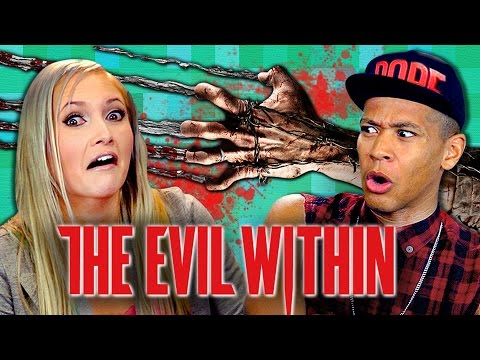 ADULTS PLAY THE EVIL WITHIN Adults React Gaming
