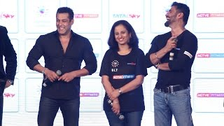 Salman Khan in Funny Mood | Active Fitness