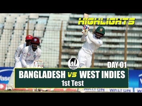 Xxx Mp4 Bangladesh Vs Windies Highlights 1st Test Day 1 Windies Tour Of Bangladesh 2018 3gp Sex