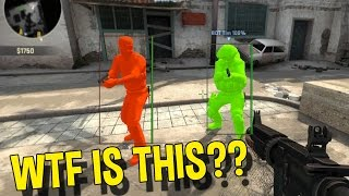 CS:GO WTF IS THIS AIMBOT? (FUNNY MOMENTS OVERWATCH)