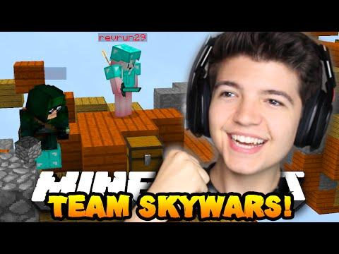 Minecraft TEAM SKYWARS #12