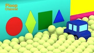 Cartoon Cars - POOL BALLS! - Cars Cartoons for Children - Childrens Animation Videos for kids