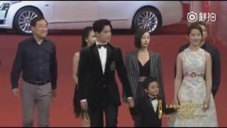 "Liu Yifei : ""三生三世十里桃花(Once Upon A Time)"" 19th Shanghai International Film Festival 2016"" Red Carpet"