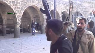 جولة داخل الجامع العمري بعد تحريره بالكامل درعا البلد