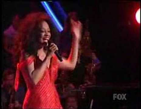 Diana Ross singing More Today Than Yesterday