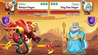 Dragon City - Random Fight | Part 104 [Full Combat & Skills 2017]