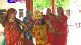 Cham Cham Natche Aaj Bajrangi | Dancing Bhajan