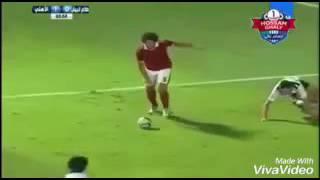 ابداعات ومهارات لاعبي الاهلي علي مهرجان شحط محط