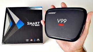2017 Scishion V99 HERO 4K Android TV Box - Octa-Core, 4GB RAM, 32GB ROM