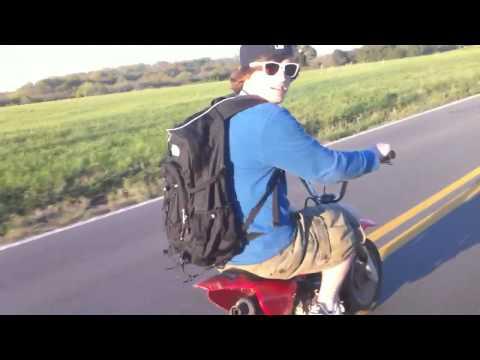 Longest CRF 50 wheelie
