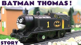 Thomas & Friends Toy Trains Superheroes Batman vs Joker Penguin and Riddler Funny Story TT4U