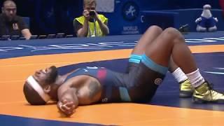 2017 Jordan Burroughs World Champion Highlight Video