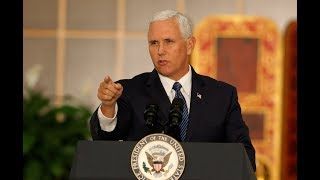 WATCH: Vice President Pence discusses tax reform and healthcare in Anderson, IN