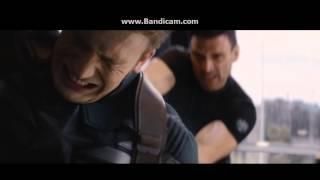Kaptan Amerika-Kış Askeri Asansör Sahnesi