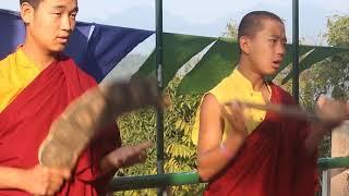 Monks of Lhomon Education Bhutan covers Tshering Changmo