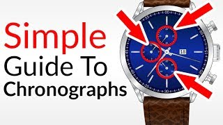 What The Heck Are Chronographs?...How To Use Chronograph Watches CORRECTLY