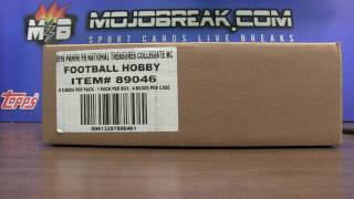 4/23 - Random Draw Results - 2016 NT Collegiate Football 4 Box Case Break Number #6