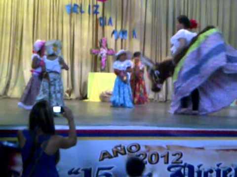 baile de la burriquita U.E Juan Bautista Arismendi El Tigre