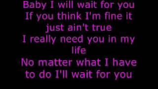 Elliott Yamin - Wait For You [Lyrics]