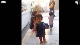 Beby Maembong: Petang2 Main Ball With Eenryna Amir Afreen And Dany - Cian Amir x Dapat Ball Tu