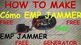 emp jammer generator 2017 how to make pcb İnfo and materials free