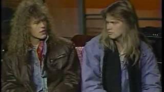 HELLOWEEN INTERVIEW 1988! VINTAGE MTV HEADBANGER'S BALL! PT. 1